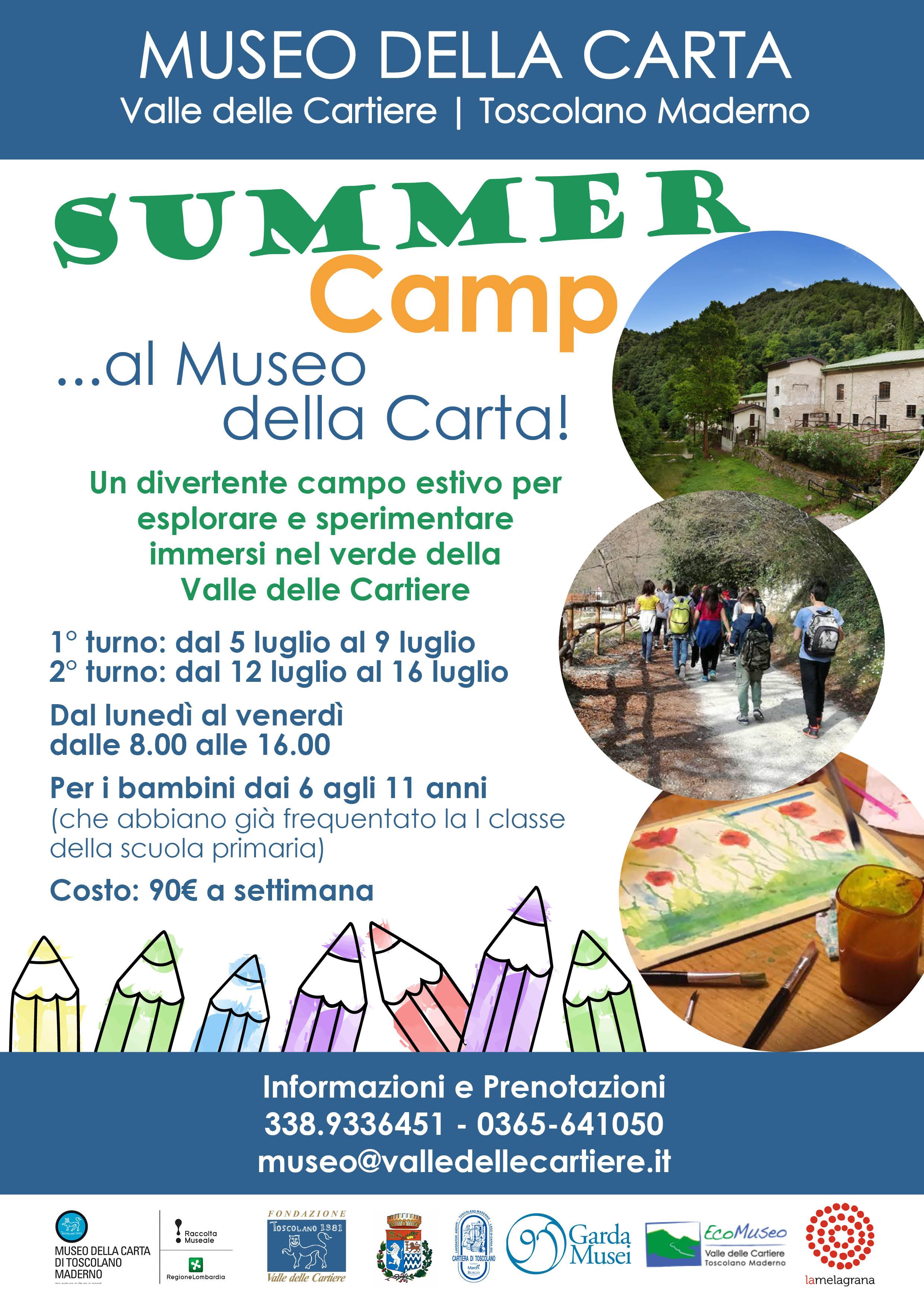 Summer Camp al Museo