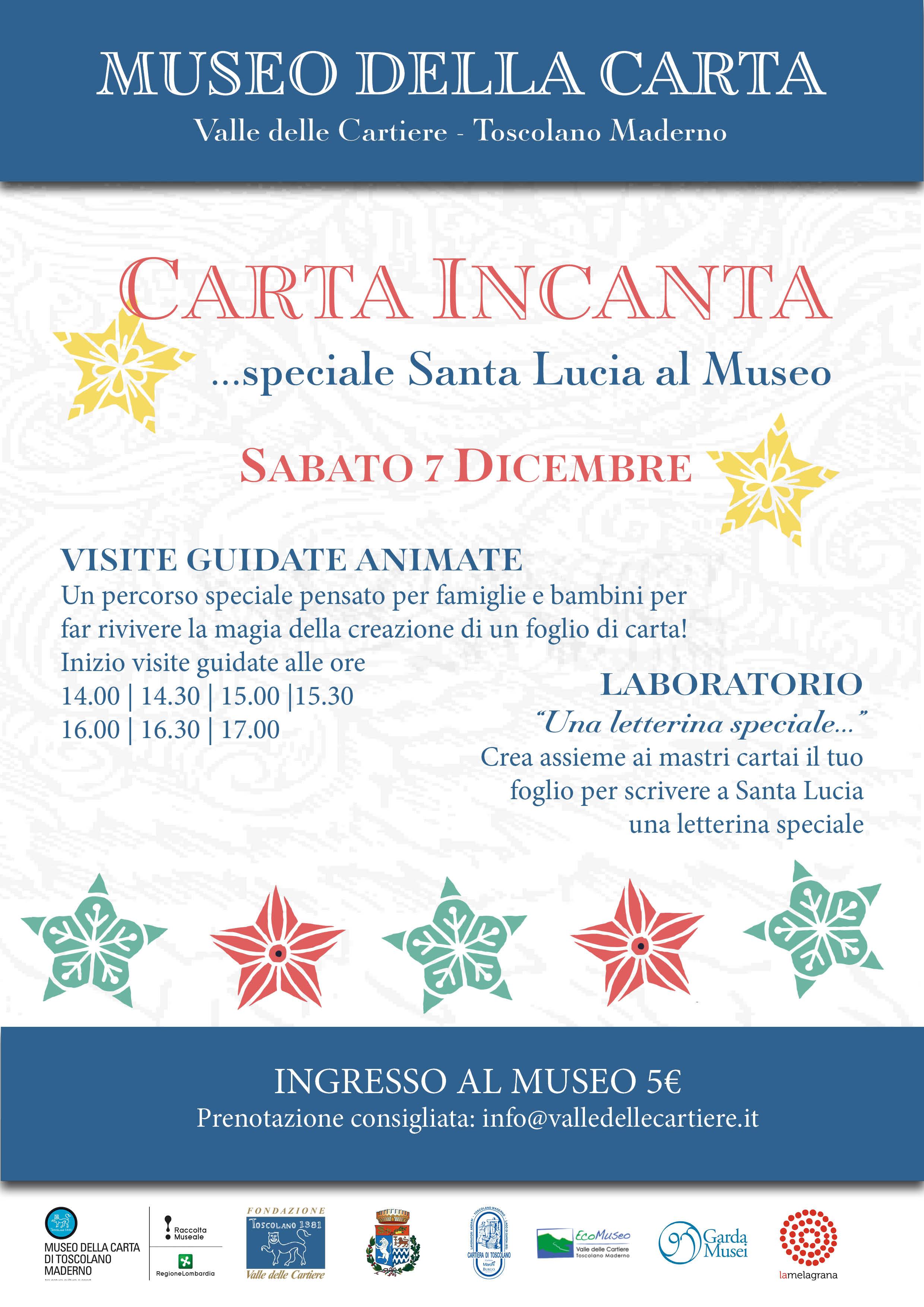 Carta Incanta | Speciale Santa Lucia al Museo